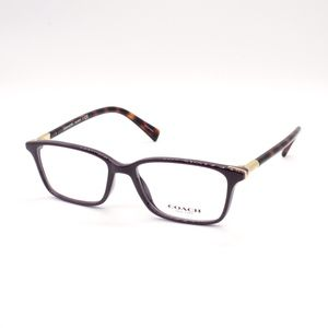 Coach Eyeglasses HC 6077 5335 51.15 135 Purple Dar